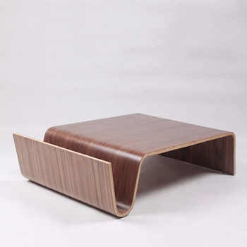 Tl Offi Scando Coffee Table Eric Pfeiffer Panel Walnut Talbe In - Scando coffee table