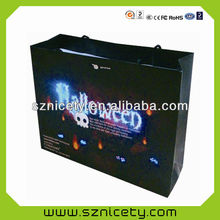 2014 Christmas glowing paper bag