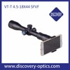 Discovery riflescope VT-T 4.5-18X44SFVF first focal plane night vision air gun tactical turret rifle scope