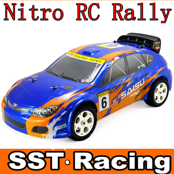 Nitro Rc Car 1 9 Scale 4wd On Road Nitro Rc Rally Car Sst Racing