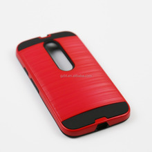 accessory for cell phone moto x style xt1570 igow heavy duty hard pc gel tpu mobile bumper case