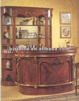 Classic Solid Wood Home Bar Furniture Sets View Classic Home Bar