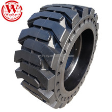 12x16.5 750-15 650x10 skid steer loader solid tires for jcb 190