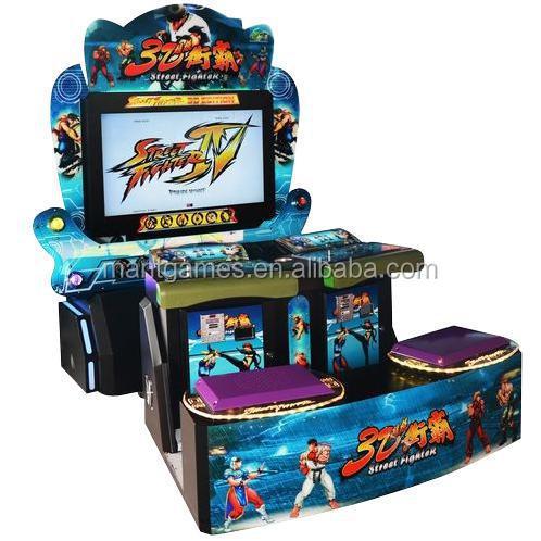 Guangzhou Mantong Factory Arcade Game Machine Cabinet 3d Video ...