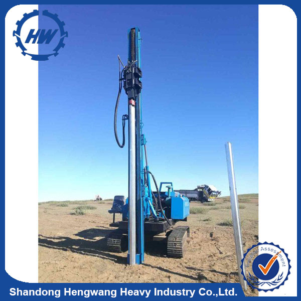 High torque Truck Type Rotary Drilling Rig/Earth Drill/excavator mounted pile driver