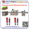 YB-P8 3-in-1 aerosol filling machine