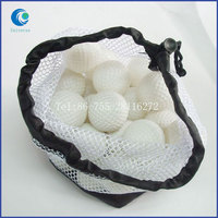 White Golf Mesh Bag Drawstring Hot Selling High Quality Packing Bags For Export