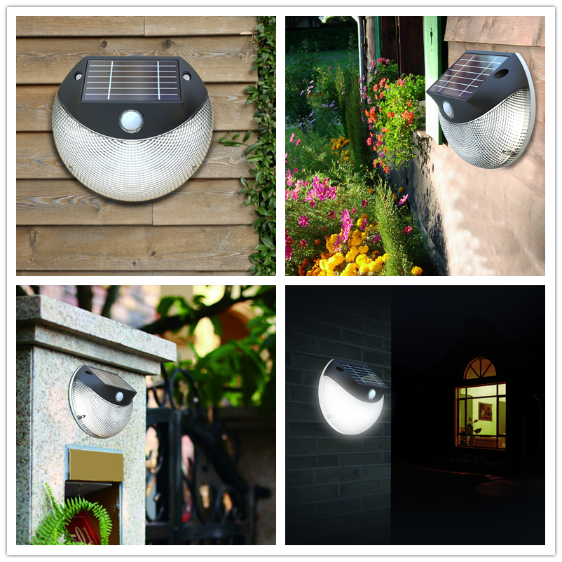 hot sale led solar home light solar motion sensor light outdoor lighting wall lamp with low price