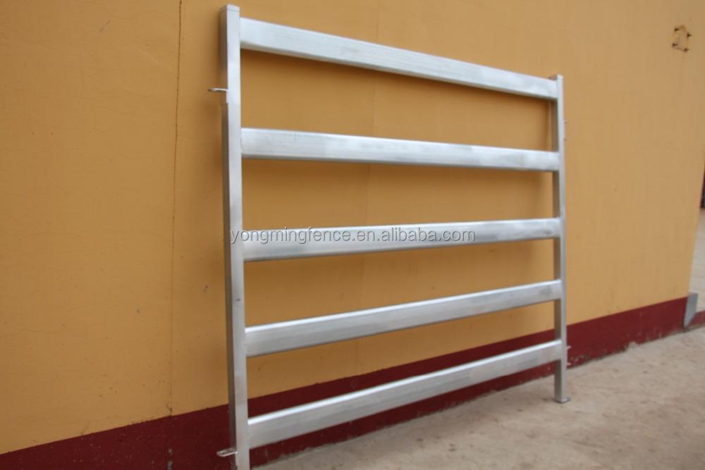 Precio barato de acero galvanizado valla de ganado paneles - Acero galvanizado precio ...