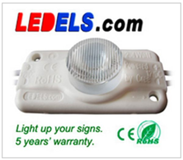 UL CE Rohs approved 12 V 2.8W high power small led modul sign lights module superflux 5 years warranty waterproof