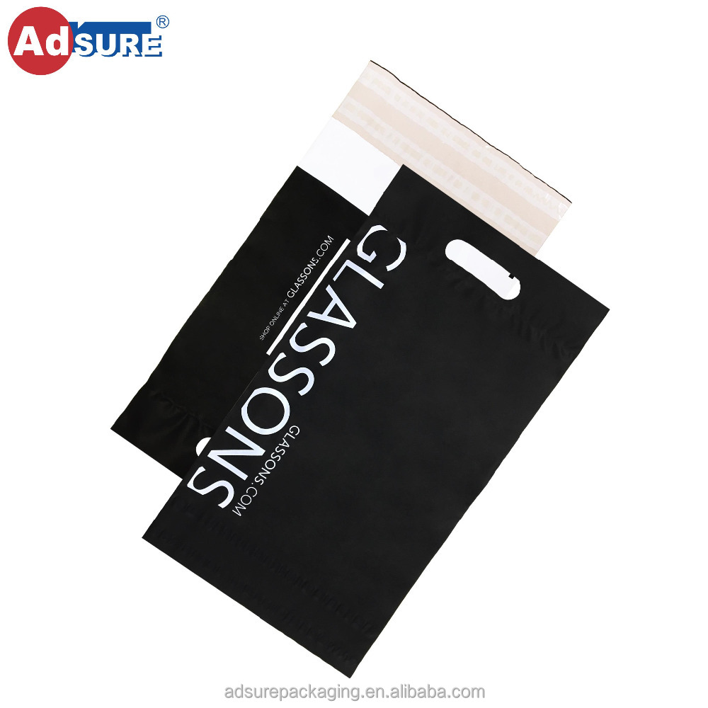 fe1583dbd3c3 Plastic Courier Bags With Die Cut Handle  Customized Adhesive Shipping Bags