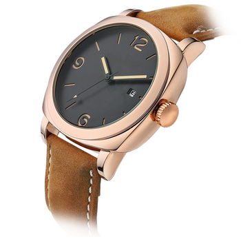 f7ddd30deac Ouro preto 2017 moda relógios homens luxo analógico esportes militar relógio  de pulso masculino de quartzo