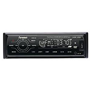 In-Dash Single DIN DVD Player - Farenheit DVD22 In-Dash DVD/DVD-RW/VCD/CD/CDR/CDRW/MP-3/MP-4/DivX and AM/FM