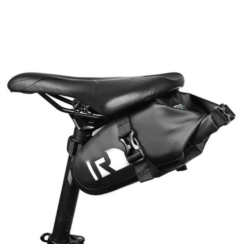 WEYUN Outdoor Sport Bike Seat Pack/Bike Under Seat Bag/Bicycle Water Resistant Bike Saddle Bag Strap-On Bike Saddle Bag/Bicycle Seat Pack Bag