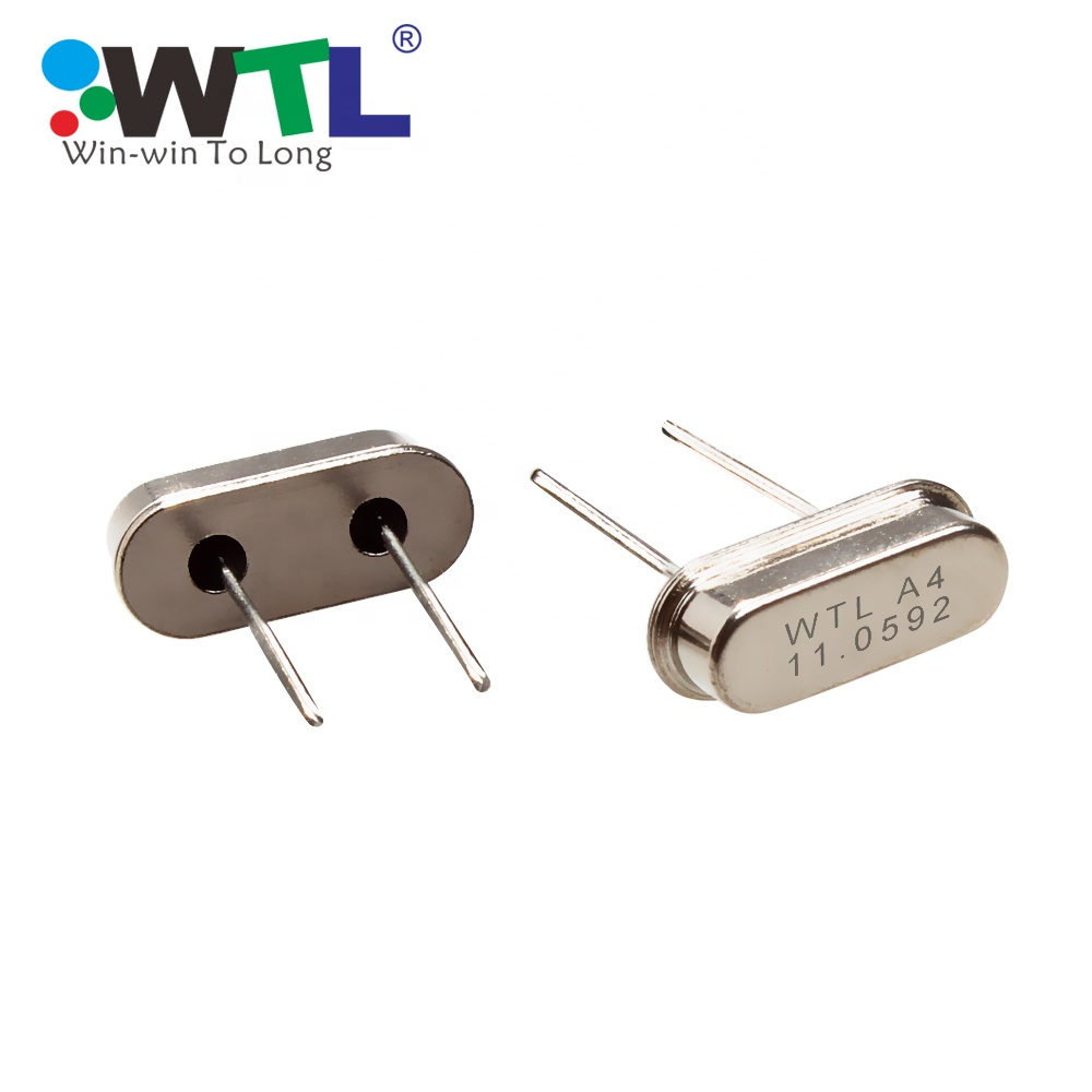 WTL HC49S Quartz Crystal Resonator 4.332 MHz