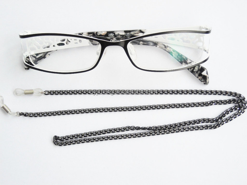 fashion comfortable wearing metal glasses strap eyeglass cords and chains