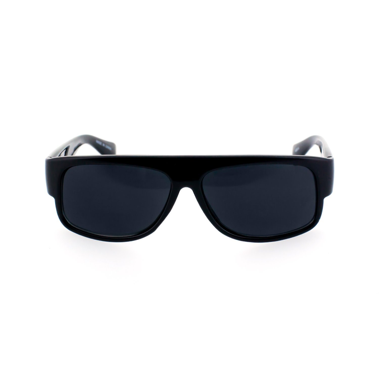 76316461f568 Get Quotations · MLC EYEWEAR ® Original OG Gangster Style Shades Sunglasses  w  Super Dark Lens (Black