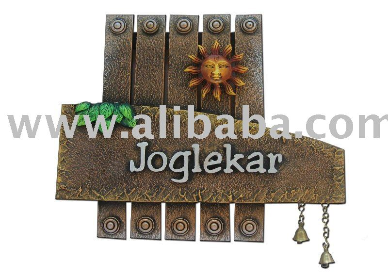 Wooden Name Plate - Buy Nameplate Product on Alibaba.com