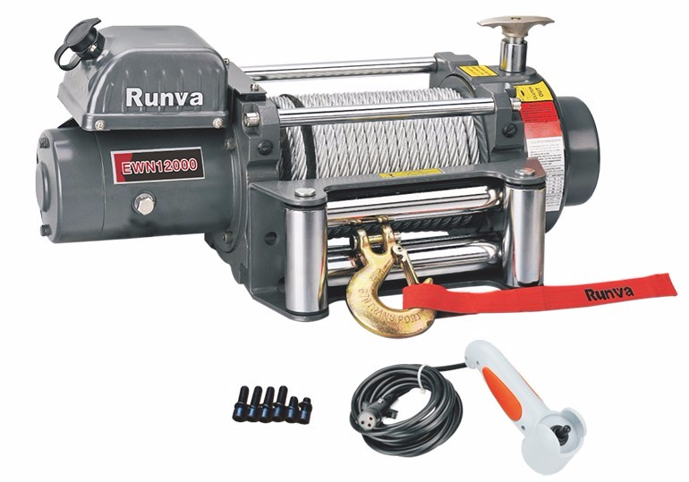 Runva Factory Price 24V 12000Lb Winches