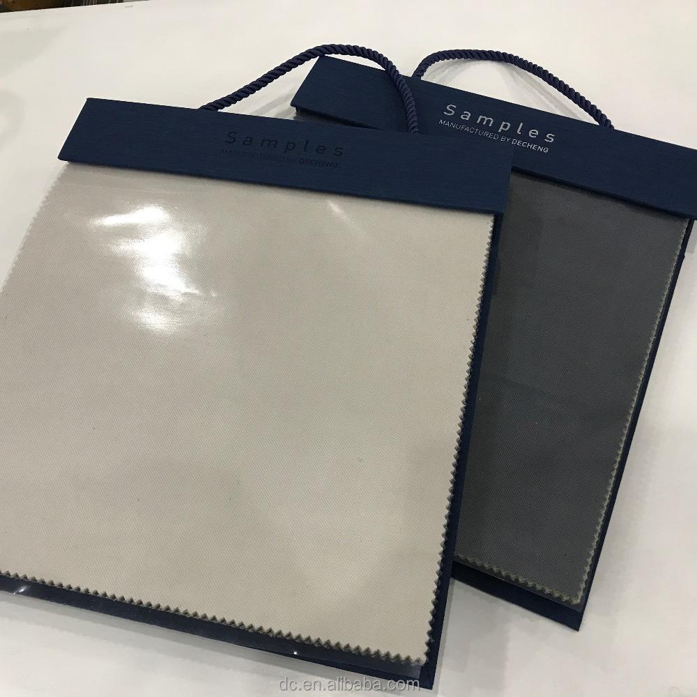 Заказчик OEM Swatch Оптовая Продажа тканевый образец книги производитель