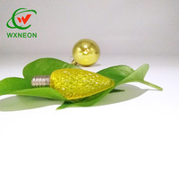 High Quality Colorful Strawberry C7 E12 Faceted Led Bulbs
