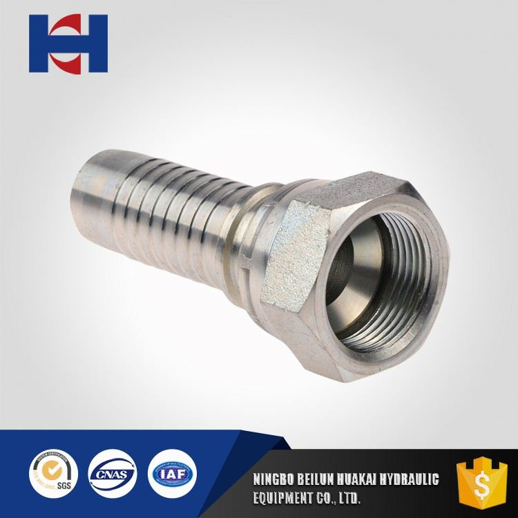 On-time delivery factory directly jic thread sizes hydraulic fitting jic