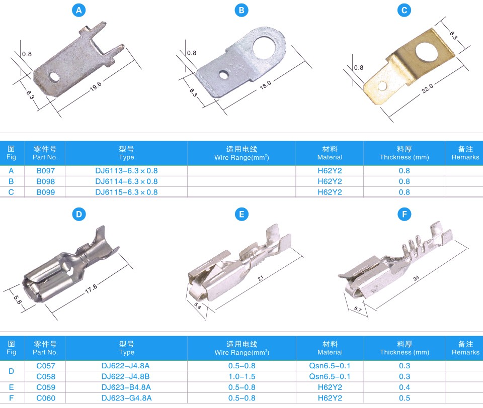 Automotive Wire Connector Terminals,Joint Terminal Wire Terminal ...