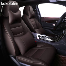 Kokoleee на заказ Авто чехол для автомобильного сиденья из натуральной кожи для honda accord ODYSSEY CR-V XR-V civic автомобильные аксессуары автокресла(Китай)