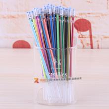2016 NEW 36 colors a set flash ballpint gel pen highlight  refill color full shinning refill  painting pen freeshiping