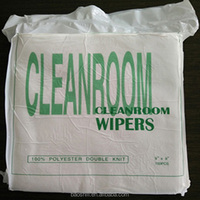 Dust Free 100% Polyester Cleanroom Wiper Chinese Supplier
