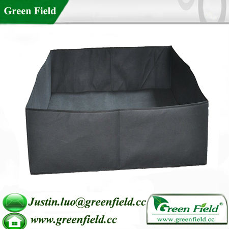Green Field Black Non Woven Fabric Raised Garden Beds Buy Black