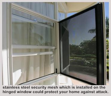 Security Stainless Steel Mesh Bullet-proof Window Screens