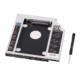 9.5MM SATA TO SATA 2nd 2.5'' Hard Drive HDD Caddy with front panel