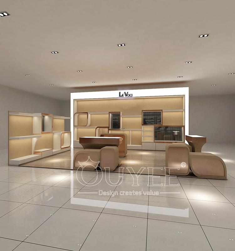 Latest Design Wooden Retail Store Furniture Bag Display
