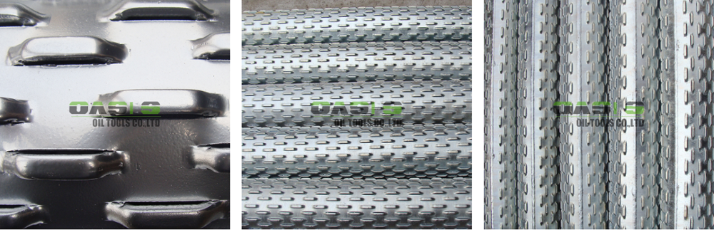 China manufacturer slotted carbon steel pipe bridge screen/bridge slotted well screen with high quality