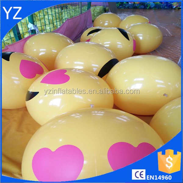 "18"" Emoji Inflatable Beach Balls, 6-Pack for sale"
