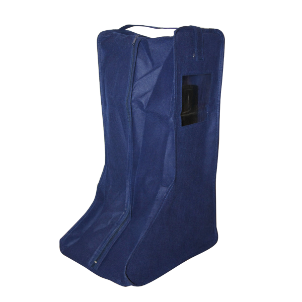 Cheap Eco-friendly Polyester waterproof dustproof tidy Zipper Large Boots Storage Bag