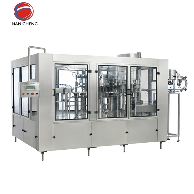 bottle carbonated drink filling water production line machine