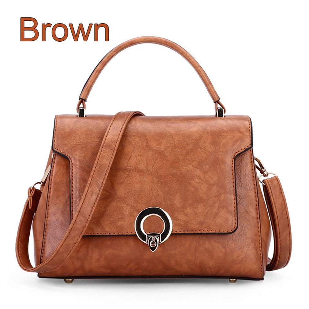 d0b26b61d3c Get Quotations · Women Handbags Designer Female Bags Handbags Trendy Metal  Buckle Crossbody Bags For Women Korean