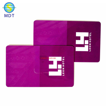 MDT1 Four color printing Smart plastic/paper card