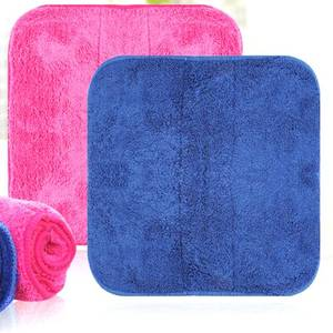 Essential Household Thick Velvet Coral Cashmere Super Absorbent Kitchen Dish Cleaning Towel Cloth