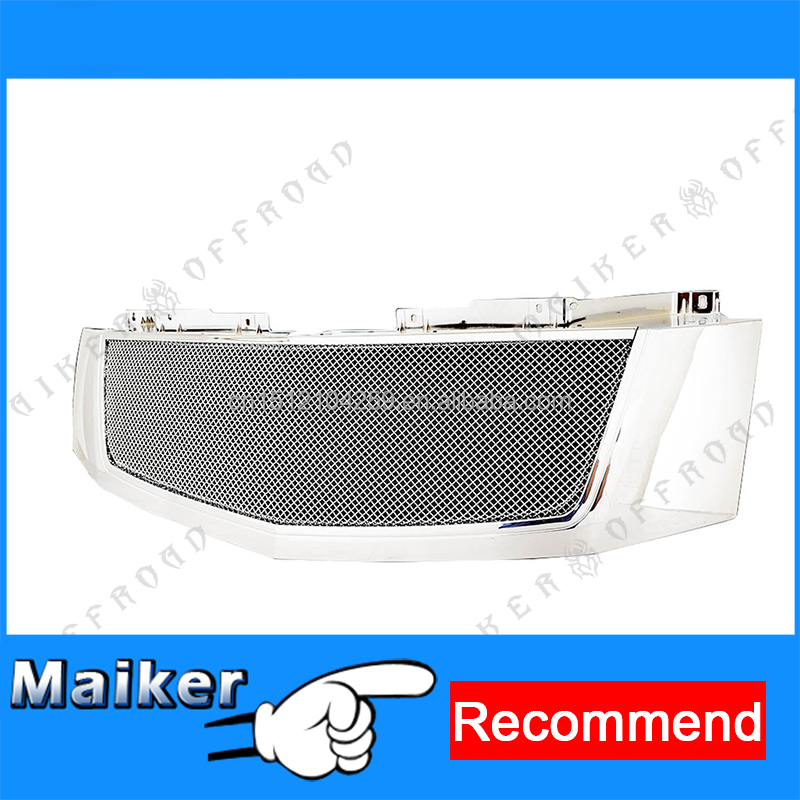 Pickup chrome packaged grille for Cadillac Escalade 2007 - 2012 parts