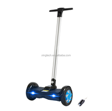 High quality two wheels electric self balancing scooter with handle/ smart hover board scooter with handle