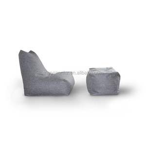 indoor-bean bag sofa bean bag office chair with footrest