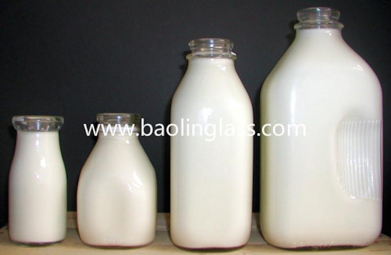 Old Fashioned Milk Bottles Wholesale