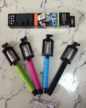 Cheapest Good Quality Most Popular Foldable Selfie Stick Bluetooth Monopod Selfie Z07-5F