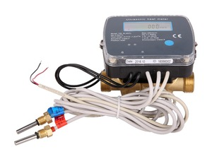 DN15 heat energy meter( ultrasonic), M-BUS, RS-485, Pulse output