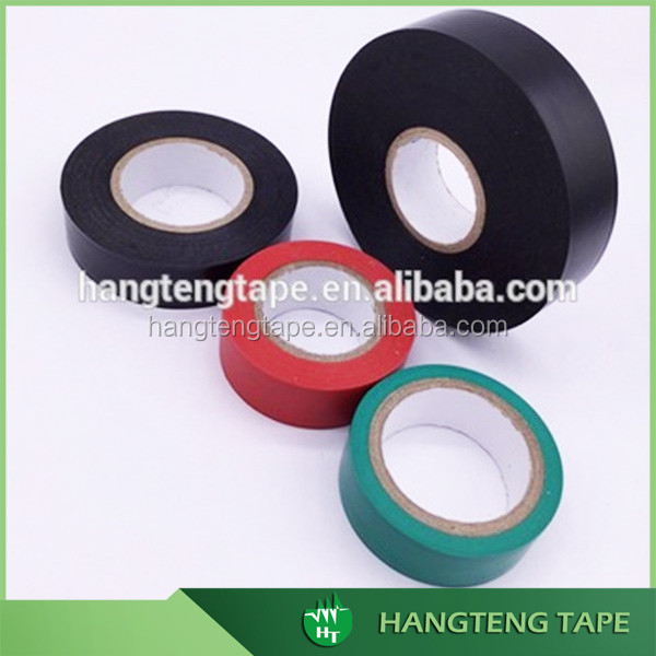 Free sample colorful isolated PVC Tape for wire cable protect