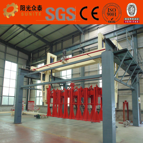 Automatic AAC lightweight building block plant / Industrial autoclave AAC blocks manufacturers