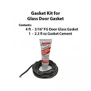 Rutland GK500 Gasket Kit For VT Casting Glass Door Gasket